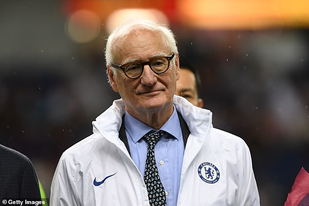 However, this changed when Hayes told Blues chairman Bruce Buck (above) that she could take the club to the Champions League final, if she was provided with the right resources