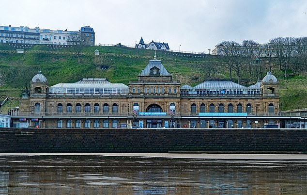 Scarborough council has decided to fly the Union Flag on top of council-owned buildings, including Scarborough Spa (pictured), on every day of the year