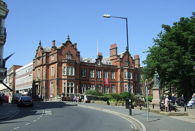 The Union Flag is set to fly over Scarborough Town Hall (pictured), Whitby Pavilion, Scarborough Spa and Filey's Evron Centre throughout the whole year