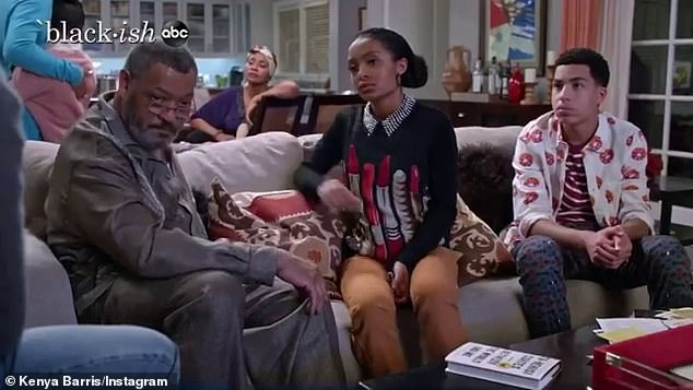 In-depth: Specifically, the writer wrote that Black-ish's fans allowed the crew 'to talk about things that people were not supposed to talk about'