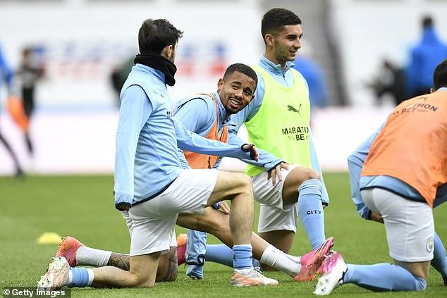 Joleon Lescott has expressed concern for Gabriel Jesus' Manchester City future this summer