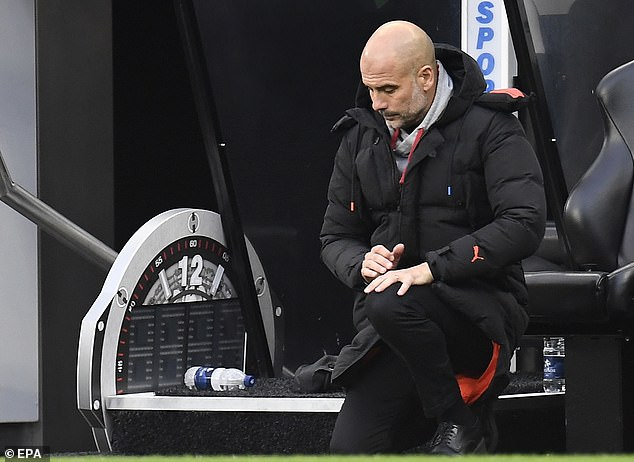 Pep Guardiola hinted that the futures of his stars will be decided before the end of the season