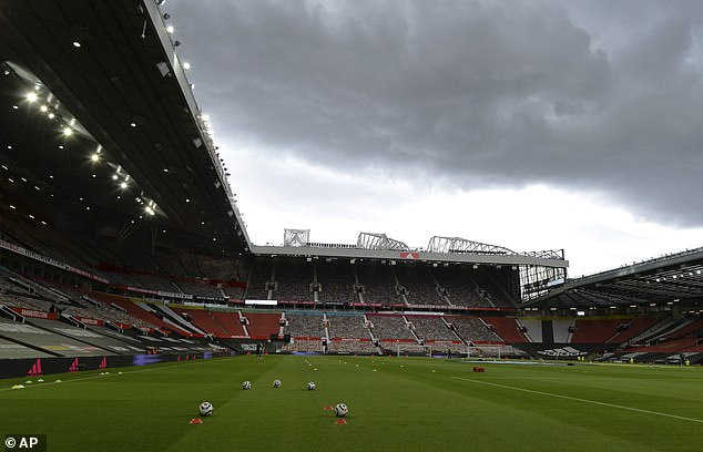 Man United will go ahead with plans to welcome 10,000 fans back to Old Trafford on Tuesday