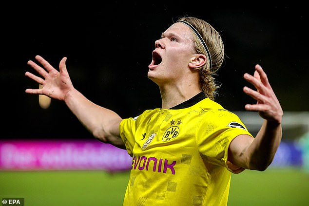 Erling Haaland has been linked with a £154m switch but City may have a cheaper option