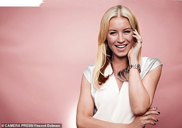 Back-burner:The TV star, 46, said she's happy to jump to the back of the queue to allow other couples to exchange vows first, as she predicts a 'massive backlog' due to the pandemic