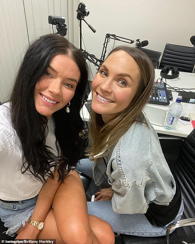 Still going!Brittany also assured fans that while she will be overseas, her commitment to her podcast Life Uncut - which she co-hosts with Laura Byrne - will continue as they can record it anywhere in the world