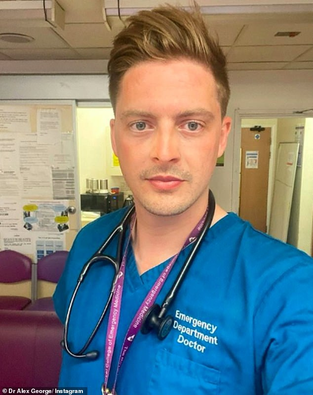 Congratulations: Dr Alex George has been appointed one of ITV's mental health advisors in the wake of three suicides linked to its flagship show Love Island