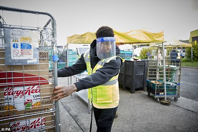 Amazing:It comes after it was revealed that Marcus and his fans have distributed more than 21million meals since first Covid lockdown (pictured atFareShare Manchester in 2020)
