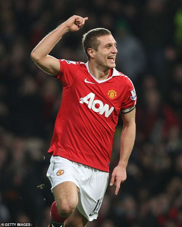 'The kids used to go 'Vidic, Vidic, do you want to come and play with me and my dad?' Tanya's three sons first started pestering the Man United legendNemanja Vidic (pictured)