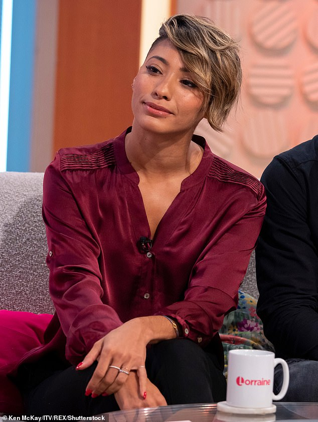 Vow:Karen Hauer has declared she will never date a professional dancer again following her highly-publicised divorce from Strictly Come Dancing co-star Kevin Clifton