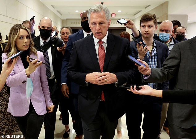 Rep. Liz Cheney said House GOP Leader Kevin McCarthy should testify before the commission studying the January 6th riot and predicted he will likely be subpoenaed
