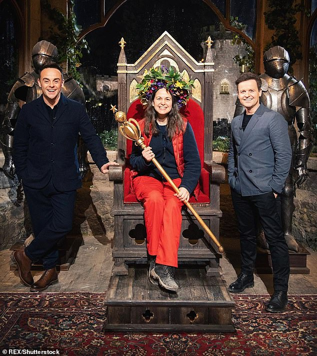 Back then: Last year's series - won by Giovanna Fletcher (pictured) in the backdrop of the country's Gwrych Castle - was a roaring success despite its move from the jungle amid restrictions in place from the coronavirus pandemic