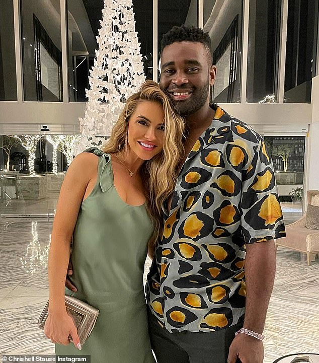continue: Stause dated professional dancer Keo Motsepe from Dancing With The Stars, but announced their split in early March;  the former couple is seen in February 2021