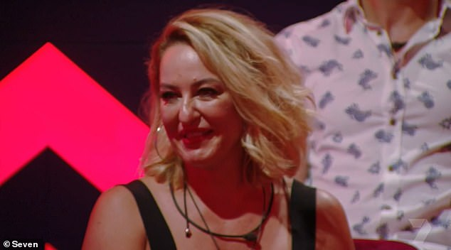 In with the team:However it was fashion stylist Adriana (pictured), who insisted she is great at reading people, who got in with the existing housemates the fastest