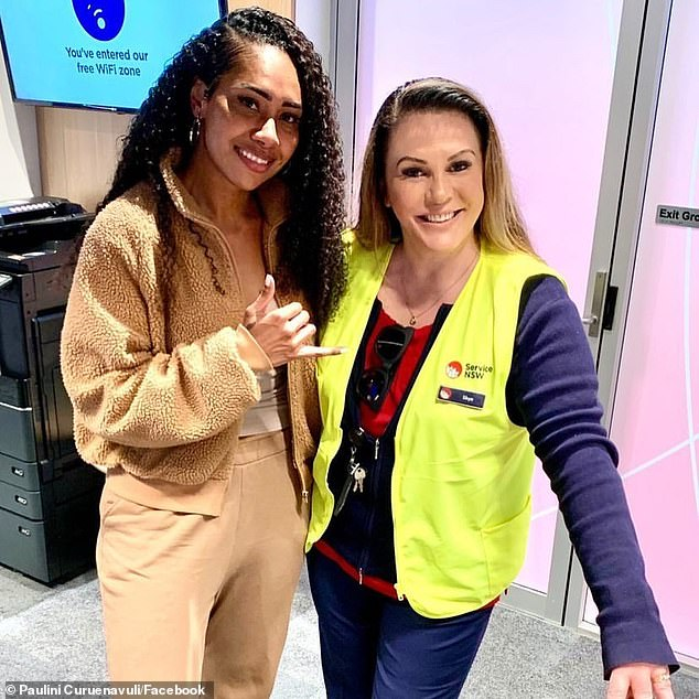 Happy days!Paulini Curuenavuli (left) announced that she has finally obtained a drivers licence. In a Facebook post on Monday, the singer, 38, shared the good news, along with a photo of her instructor