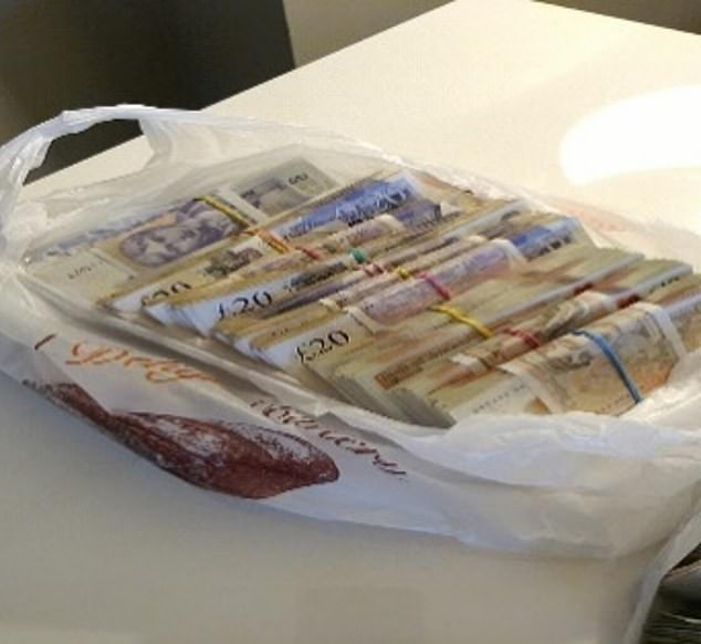 All four were arrested during raids on their homes in June last year, which saw nearly 50,000 MDMA pills, cash, a cash counting machine, encrypted phones and Rolex watches seized