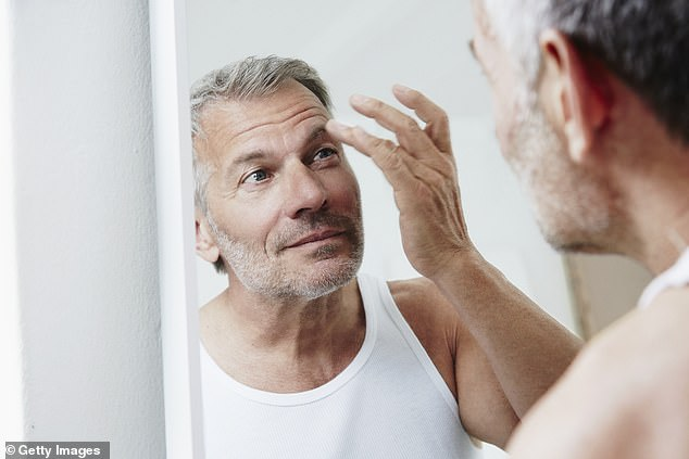 Feeling youthful was not based on the individual's energy or vibrancy or luster for life, but more than half reported that they still see their 'younger selves' in the mirror