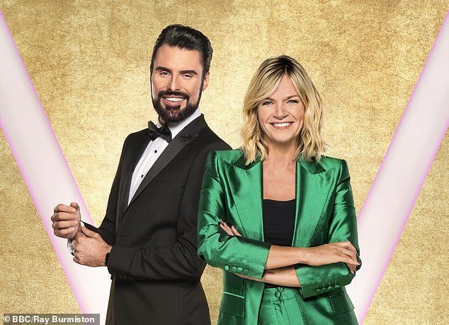 Departure:The presenter, 50, has hosted the after show for the last decade but has decided to move on to pastures new (pictured with co-host Rylan Clark-Neal)