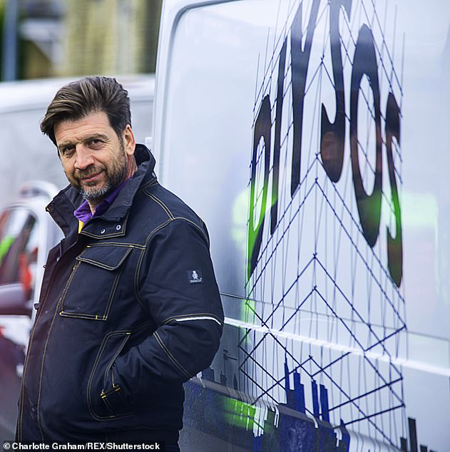 Not Happening: Nick previously insisted he had 'absolutely no intention' of leaving the BBC on DIY SOS after joining rival broadcaster Channel 5 to host two new shows