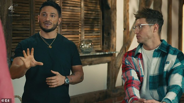 It all comes out: Reza and Verity's flame emoji texting scandal caused tension in the house on Monday's Made In Chelsea