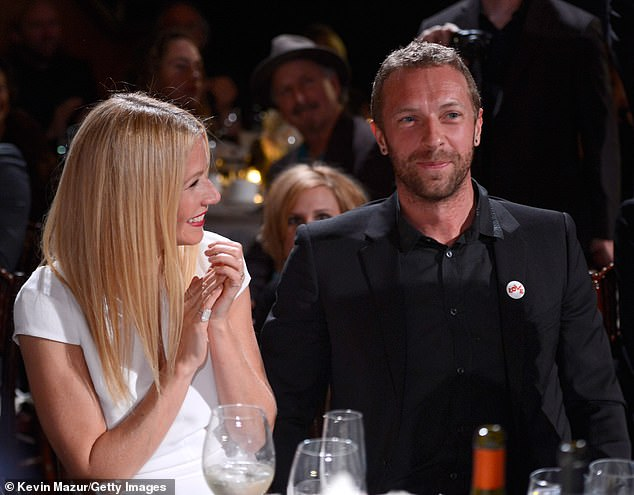 Decoupled: Gwyneth and Chris Martin co-parent their children amicably.  The couple married for 11 years before `` consciously decoupling '' in 2014. Photographed in 2014