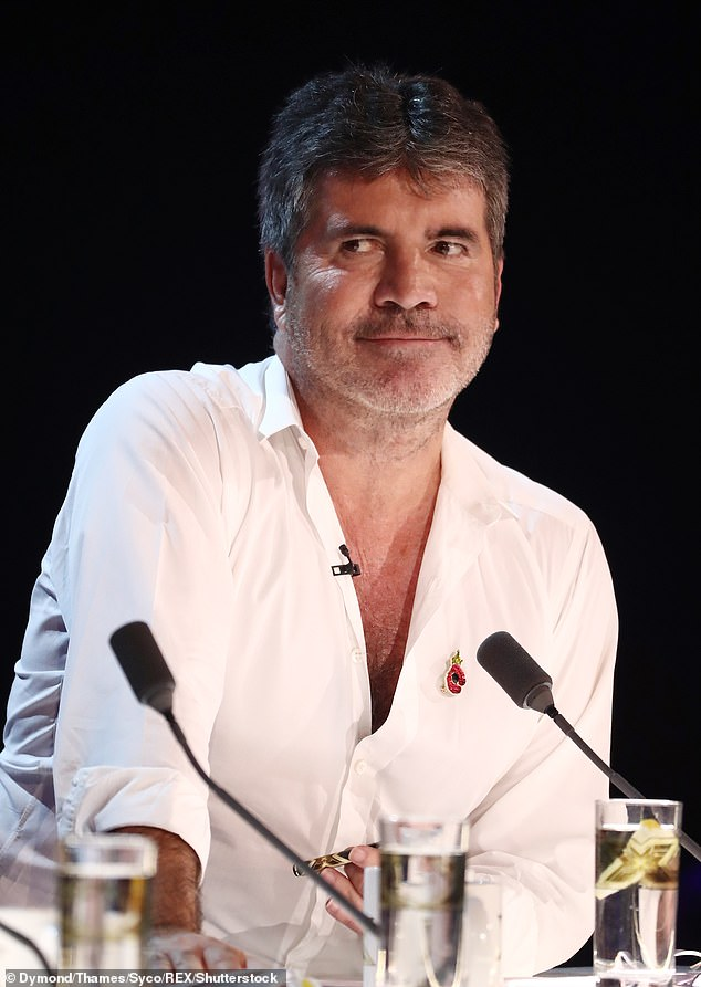 Greg revealed that Dua appeared in a commercial for the Simon X Factor show in 2013 and sang a cover of Sister Sledge's Lost In Music to promote the auditions (Simon pictured in 2018)