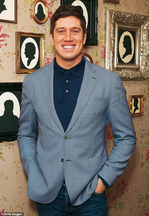 Awkward:Vernon Kay has revealed he once crashed a model plane near a group of people and admitted it 'could have been really traumatic'