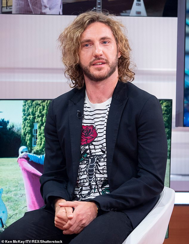 Candid:Seann Walsh has said his kissing scandal with Strictly Come Dancing partner Katya Jones 'destroyed his dreams' and changed his life forever