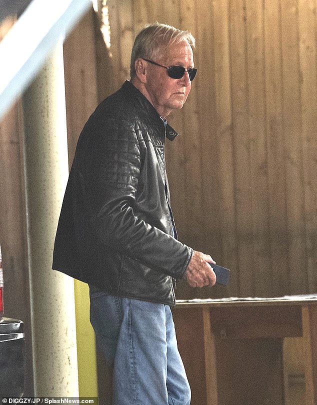 Casual:He was dressed casually in a pair of blue denim jeans and a leather jacket
