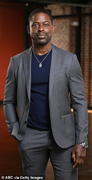 News to him: Sterling K. Brown, 45, explained that he only learned about Justin Hartley recent marriage to Sofia Pernas through the news