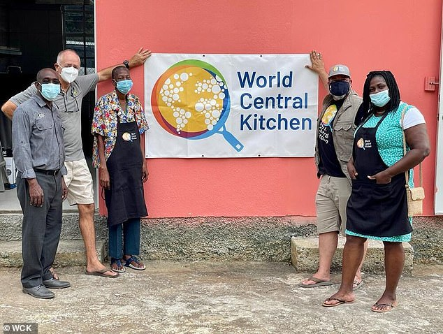The couple's Archewell Foundation, working with charityWorld Central Kitchen, have already built a similar centre in Dominica, in the Caribbean