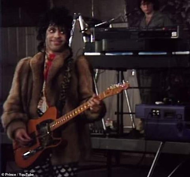 Musician: Prince is seen performing his version of Nothing Compares 2 U. He wrote and recorded the song in 1984 but it was not released until 2018