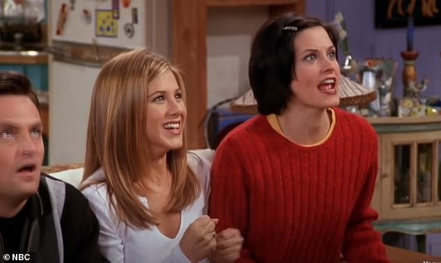 Blast from the past: Friends first aired in September 1994 and followed six young adults living in New York City