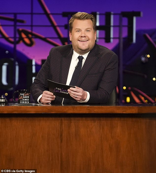 Wrong choice?Friends fans react in fury as James Corden is revealed to be host of the reunion special... and question what the British star has to do with the iconic show (pictured in 2018)