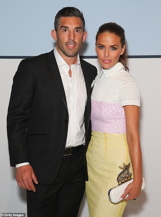 Exes: Braith (left) and Jodi married in 2012 and welcomed Aleeia in 2014, before calling it quits the following year. Pictured together in 2015