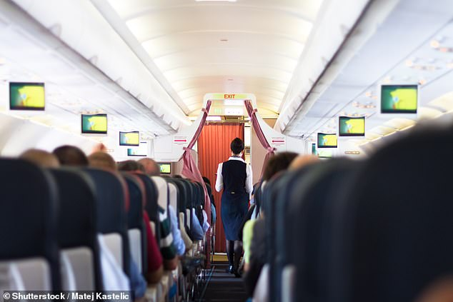 Oneformer flight attendant who was in the job for 15 years said they got frustrated by 'passengers who do aircraft yoga during the service'