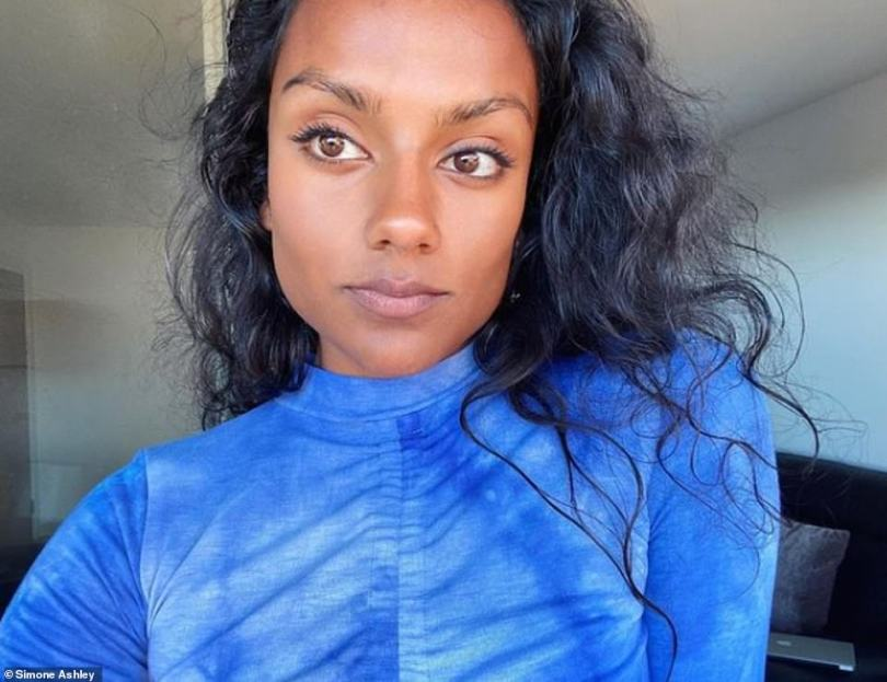 Starring role: Simone Ashley (pictured) was recently announced to be playing Kate Sharma in the forthcoming season of Bridgerton, and Kate is Anthony'slove interest