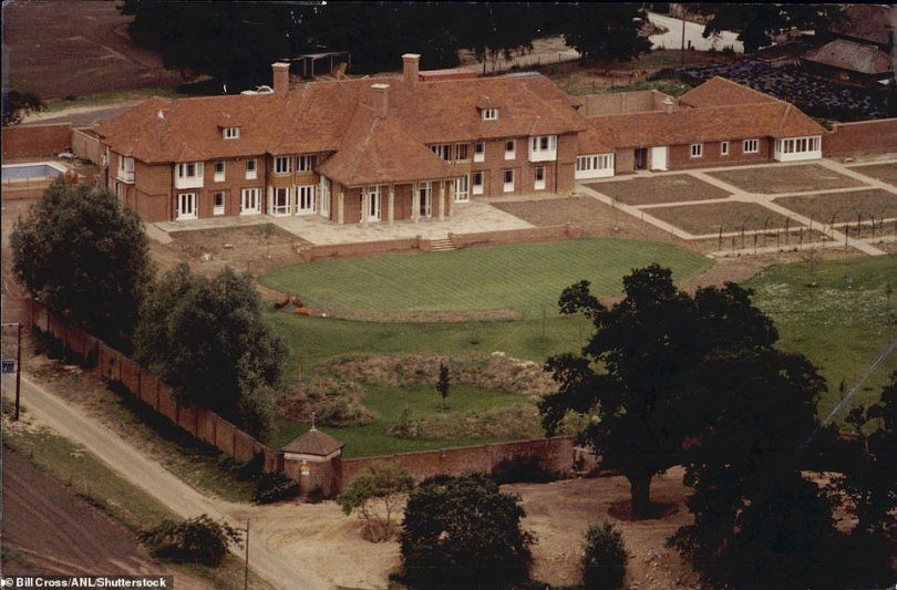Plans According to reports, producers were hoping to use land at Prince Andrew's former Berkshire home to stand in for Georgian London in the Netflix show (pictured in 1990)