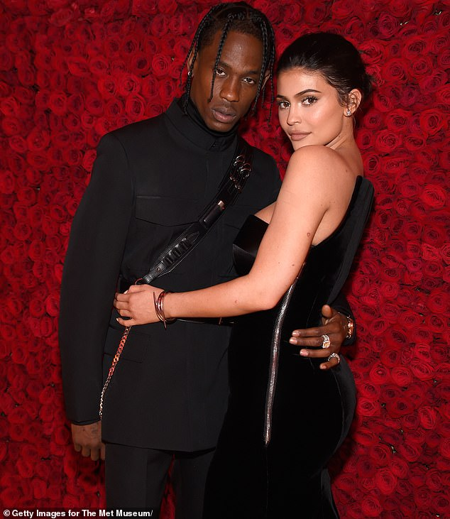 The way they were:Although Kylie and Travis broke up in 2019 they have remained amicable co-parents and spent several holidays together with their little girl