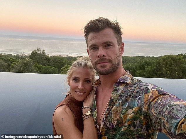 Living the Aussie dream!Elsa and her husband Chris Hemsworth, 37, swapped the bright lights of Hollywood for a more relaxed life in Byron Bay, where they built a $30 million mega-mansion