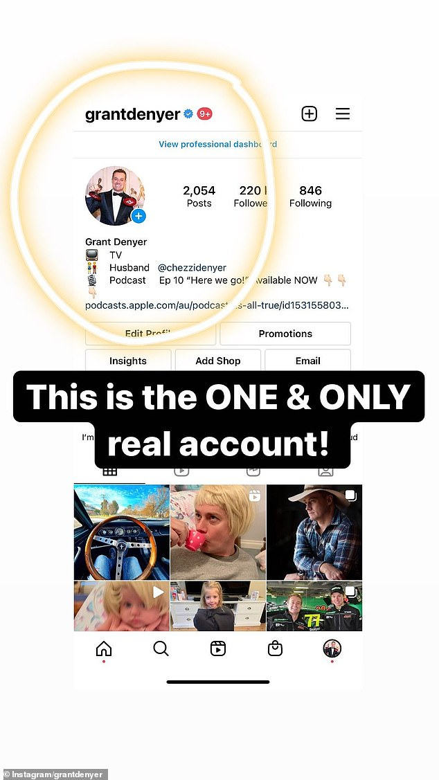 Warning:In a series of posts on Instagram Stories on Friday, the 43-year-old veteran TV host warned his fans about the scam