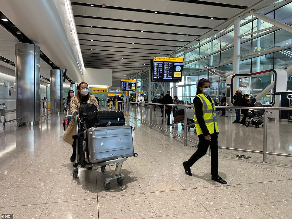Nadine Houghton, GMB national officer, said: 'I have been inundated by messages from concerned GMB members providing a vital service at Heathrow'(pictured today)