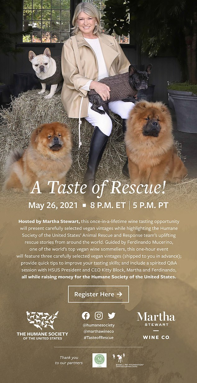 For more information about the event and to register visit marthastewartwine.com