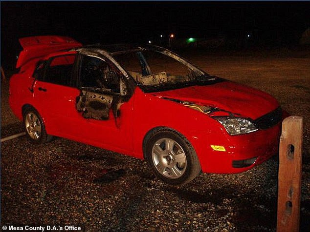 Her car was found burnt out, with some investigators suspecting it was arson