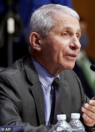 Dr Anthony Fauci is among a group of doctors and health officials that have criticized recent CDC guidance, saying that its unclear nature could lead to many unvaccinated individuals ditching their masks. They fear the guidance could cause a surge in cases among unvaccinated Americans