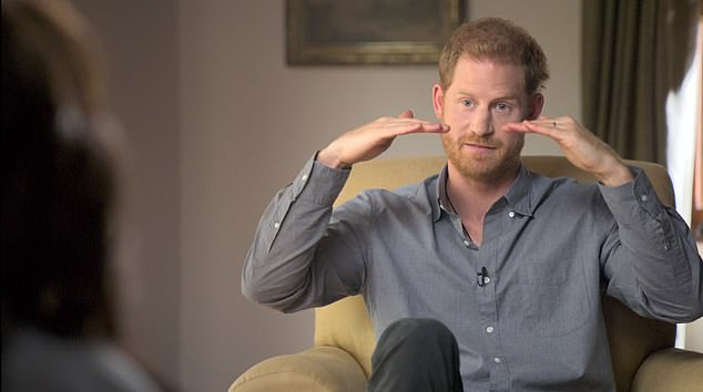 Breaking down barriers: Oprah new Apple TV+ series, The Me You Can't See, explores mental health and emotional well-being. Shecollaborated with Prince Harry who discussed in upbringing and mental health struggles