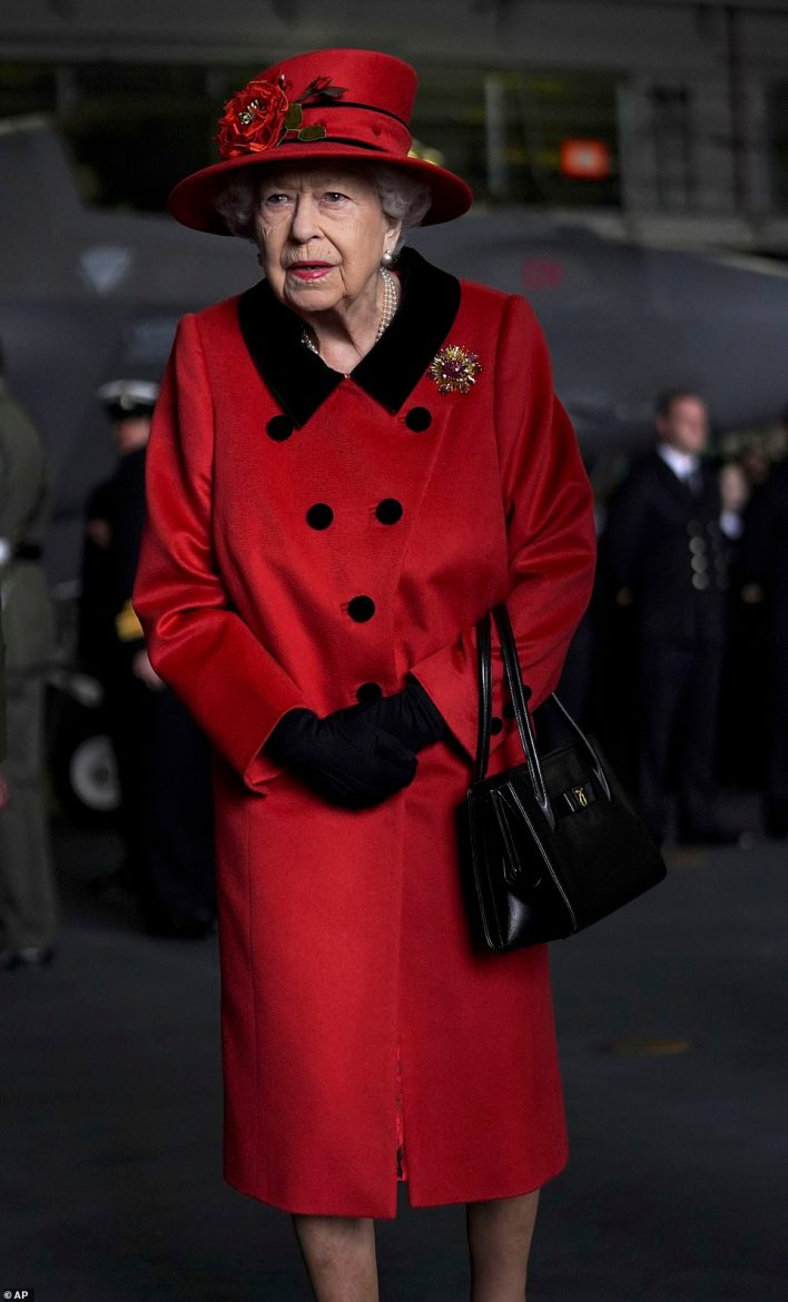 The Queen's visit came before Royal Navy's flagship vessel is set to depart for Asia later on Saturday to begin a 28-week operational deployment which will see it carry out visits to 40 countries including India, Japan, and Singapore