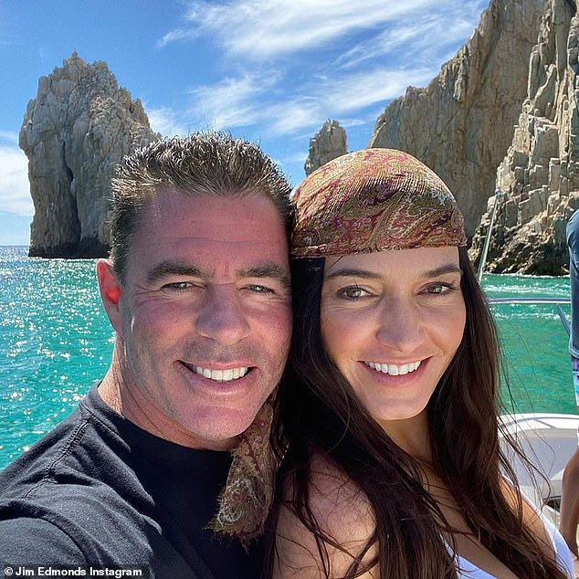Moving on: King said she 'fully supports' his new relationship with Kortnie O'Connor despite alleging at the time of their initial separation that he had stepped out on the marriage with more than one woman