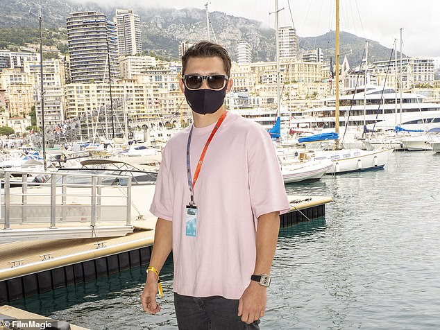 Spectator: The actor is in town for the annual Monaco Grand Prix, which is set to take place on the Circuit de Monaco on Sunday