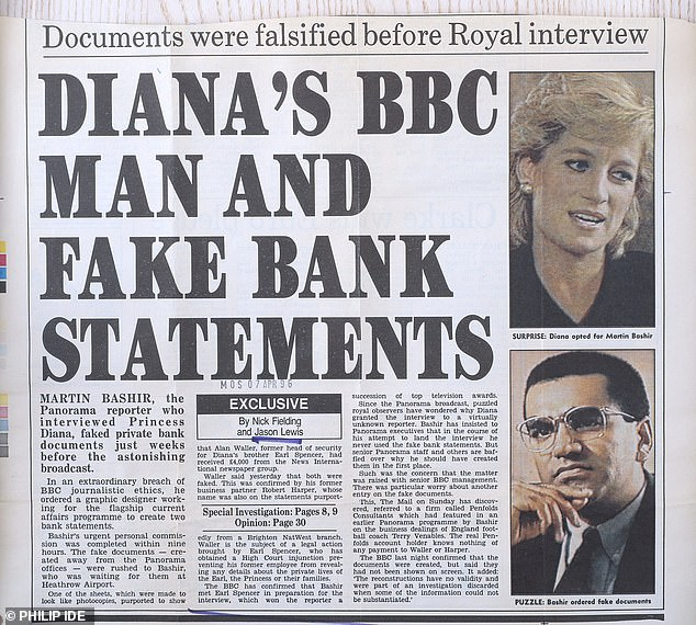 Today, it remains beyond belief that – according to all the evidence I have seen – the Diana scoop would eventually lead the BBC, the world's greatest broadcaster and the gold standard for global truth, to mount a grubby cover-up